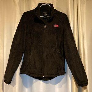 NORTHFACE Fuzzy Black Jacket
